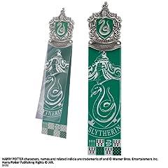 Idea Regalo - Noble Collection NN8716 - Harry Potter, Segnalibro Serpeverde