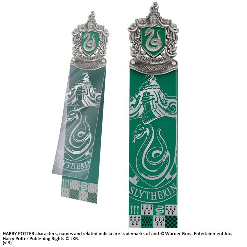 Noble Collection Slytherin Bookmark