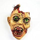 Halloween Testa Fittizia Testa Del Diavolo Testa Appesa Halloween Fantasia Decorazione Puntelli Portando La Testa Morta Simulazione Orrore,A2
