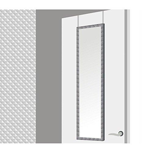 Espejo-para-puerta-con-formas-geometricas-en-color-plata-37x2x128-cm