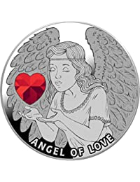 Power Coin Angel of Love Angel Moneda Plata 1$ Niue 2020