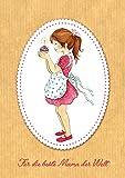 Erhältlich im 1er 4er 8er Set: Süße Grußkarte zum Muttertag