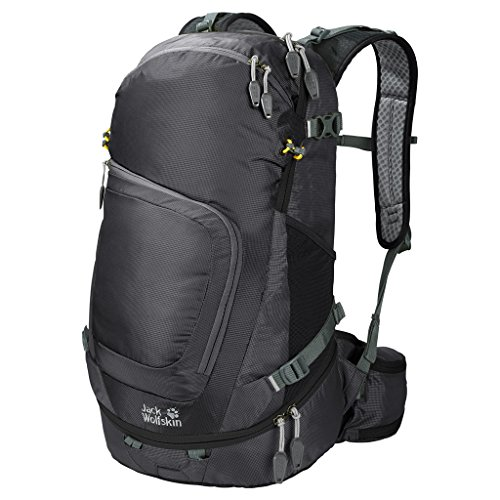 Jack Wolfskin Daypacks & Bags Crosser 34 Pack Zaino 53 cm scomparto Laptop Black
