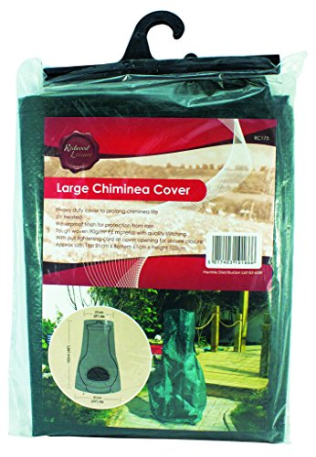 Chiminea Cover (Redwood Leisure Redwood Leisure bb-rc175 84 x 50 x 0,5 cm groß Terrassenofen Cover – Grün (1-))