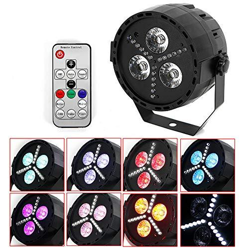 RGBW 3x6W LED 4in1 DMX PAR Licht Bühnenbeleuchtung Stage Lichteffekt Licht Party Lampe DJ Party Stage Licht-Effekte - Par 36 Pin Spot