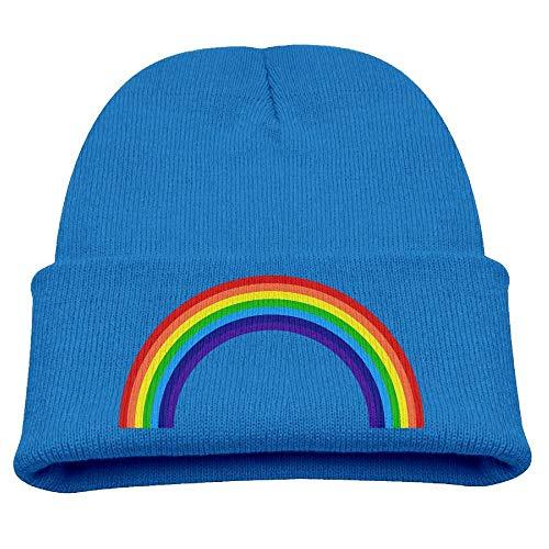 09cf9c7822d Bikofhd Rainbow Boys Boys Girls Winter Hat Knit Kids Beanie Hat Skull Hat  Ears Covers Fashion2
