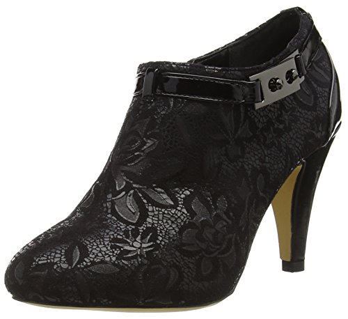 Lotus Women's Jacaranda Ankle Boots, Black (Blk), 6 UK 39 EU