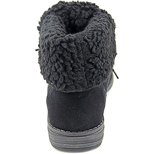 American Rag Davey Rund Faux Wildleder Mode-Stiefeletten Black