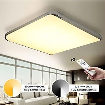 Kusun 50w led ceiling lights remote control2800k 6500k dimmable kusun 50w led ceiling lights remote control2800k 6500k dimmable flush aloadofball Images