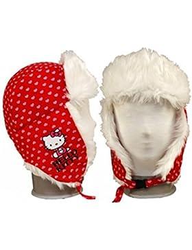 Hello Kitty - berretto invernale, con protezione per le orecchie Foderato