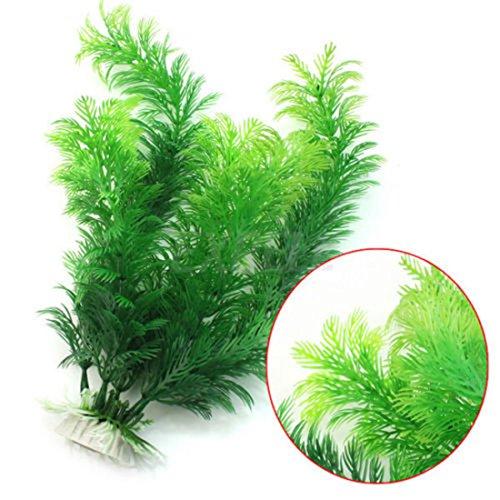 Vollter Ornament Dekoration Künstliche grüne Unterwasserpflanze Aquarium Aquarium Decor (Grün Aquarium Dekoration)