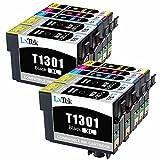 LxTek Kompatibel Ersatz für Epson T1301 T1302 T1303 T1304 Druckerpatronen für Epson Stylus Office B42WD BX525WD BX535WD BX625FWD BX630FW BX635FWD BX925FWD BX935FWD, WorkForce WF-3010DW WF-3520DWF WF-3530DTWF WF-3540DTWF WF-7015 WF-7515 WF-7525, Stylus SX525WD SX535WD SX620FW (4 Schwarz, 2 Cyan, 2 Magenta, 2 Gelb)