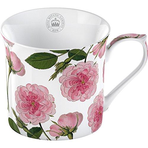 Creative Tops - Tazza in porcellana, soggetto: Giardini Botanici Reali di Kew, colore: rosa