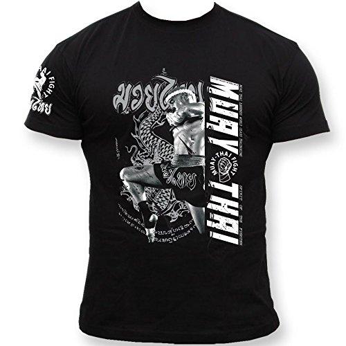 Dirty Ray Artes Marciales MMA Muay Thai camiseta hombre