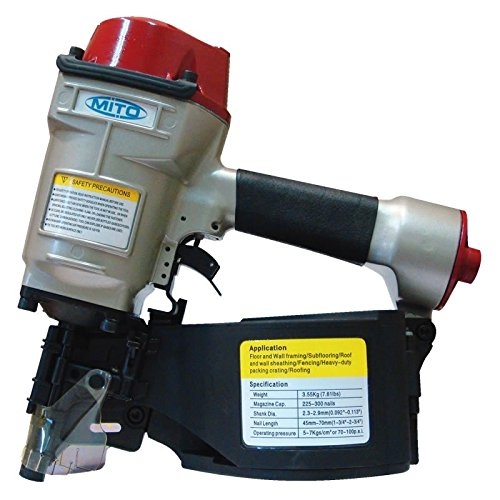 Cloueuse pneumatique MITO MR-90 pour clou en bonina /électrosoud/é de 50 /±15/° /à 90 mm