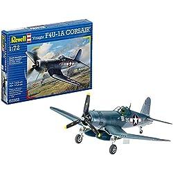 Revell- Vought F4U-1D Corsair, Kit de Modelo, Escala 1:72 (3983) (03983), 14,8 cm (