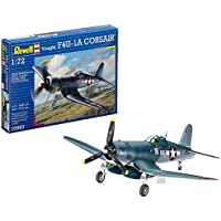 Revell Vought F4U-1D Corsair, Kit de Modelo, Escala 1:72 (3983) (03983), 14,8 cm