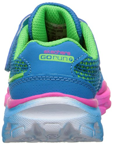 Skechers GO Run Ride Lil Rider Mädchen Sneakers Blau (BLMT)