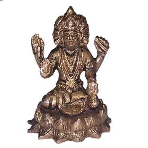 brahma-idol-in-messing-hindu-religion-gott-skulptur