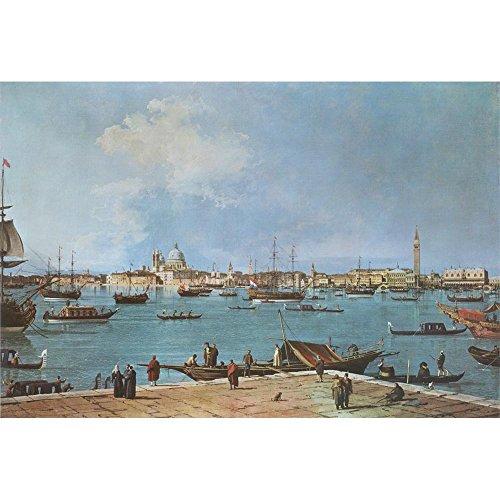 The Bacino di San Marco , Antonio Canaletto - Medici Drucken