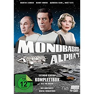 Mondbasis Alpha 1 - Extended Version Komplettbox: Alle 48 Folgen (Neuabtastung) [16 DVDs]