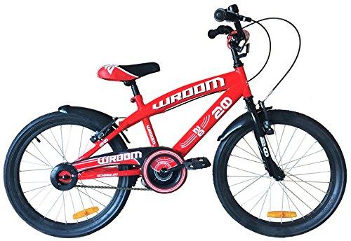 """Mario Schiano Bicicletta Wroom 20"""" 1V Uomo Rossa 00098"""