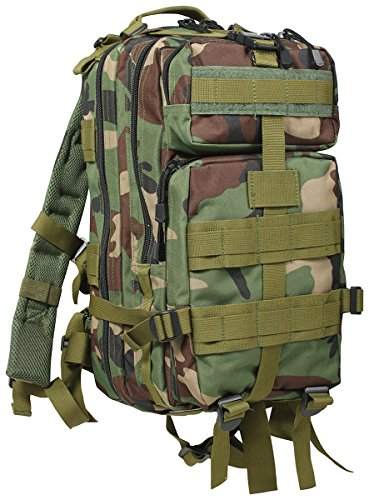 rothco medium transport pack woodland camo