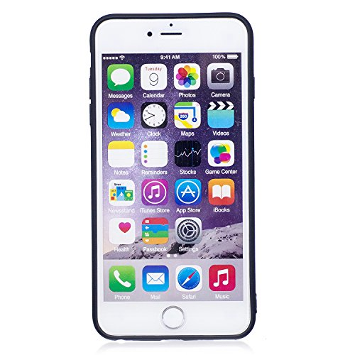 iPhone 6 Plus/6S Plus Coque, Voguecase TPU avec Absorption de Choc, Etui Silicone Souple, Légère / Ajustement Parfait Coque Shell Housse Cover pour Apple iPhone 6 Plus/6S Plus 5.5 (Panda 07)+ Gratuit  papillon d'or 02