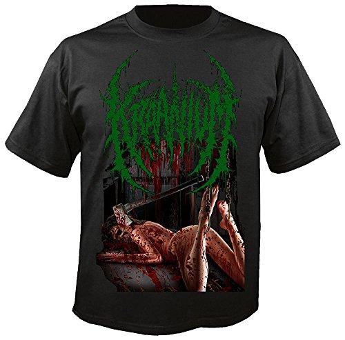 KRAANIUM - Ten Acts of Sickening Perversity - T-Shirt Größe XXL