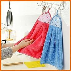 Plain Washbasin Hand Napkin/Towel / Ring Towel - Set of 10 - Assorted