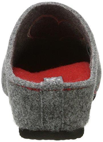 ara Damen Cosy Pantoffeln Grau (Grau)