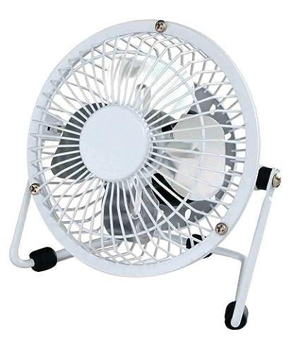 Ventilateur de table à 2 vitesses pour bureau et maison de 22,9cm avec fonctions d'inclinaison et de rotation par Guilty Gadgets