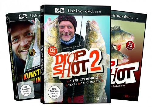 3 Dietmar Isaiasch DVDs im Raubfisch Pack Nr. 2