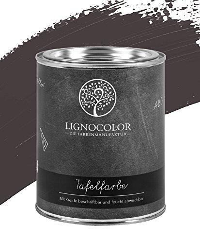 Lignocolor Tafelfarbe Tafellack echter Tafel-Look 750ml (Cement 02)