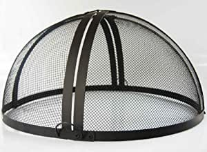 Innovative24 vasque bras ro aufschiebbare grille pare feu for Pare etincelle pour foyer exterieur