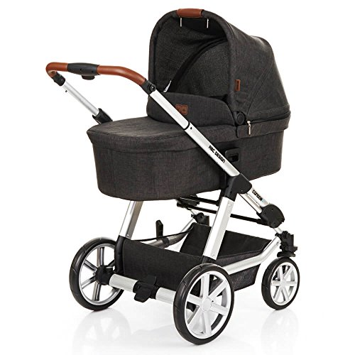 ABC Design Condor 4 - Kombikinderwagen - Komplett-Set 2in1 - inkl. Babywanne & Sportwagen (Piano)