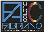 Viscio Trading 113501 Blocco Fabriano, Carta, Multicolore, 24x33x0.7 cm