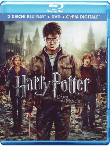 Harry Potter e i doni della morte - Parte 2 [2 Blu-ray + DVD + Digital Copy] [IT Import mit deutscher Sprache] [IT Import]