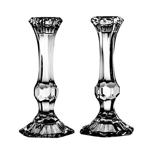 Crystaljulia 2885portacandele piombo cristallo,-Bicchieri, confezione 2pezzi,