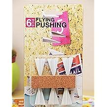 Remeehi Paper Airplane Pushpins oficina Gadget pines de metal y tachuelas para corcho Junta