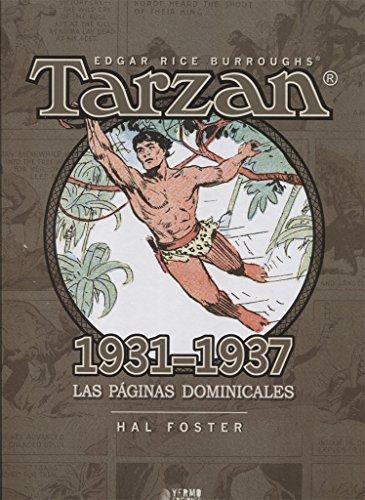 Tarzan. Las Paginas Dominicales. 1931 - 1937