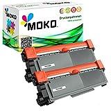 2 Toner-Kartuschen kompatibel zu Brother TN2320: Brother MFC-L-Series: MFC-L 2700 DN / MFC-L 2700 DW / MFC-L 2701 / MFC-L 2701 DW / MFC-L 2703 DW / MFC-L 2720 DW / MFC-L 2740 CW / MFC-L 2740 DW