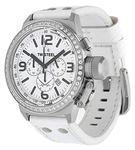 TW Steel Montre bracelet Femme Sansibar Blanc TW-de 10S