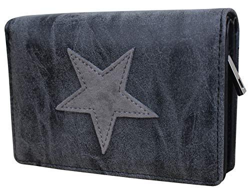 Damen Luxus Stern Geldbörse Geldbeutel