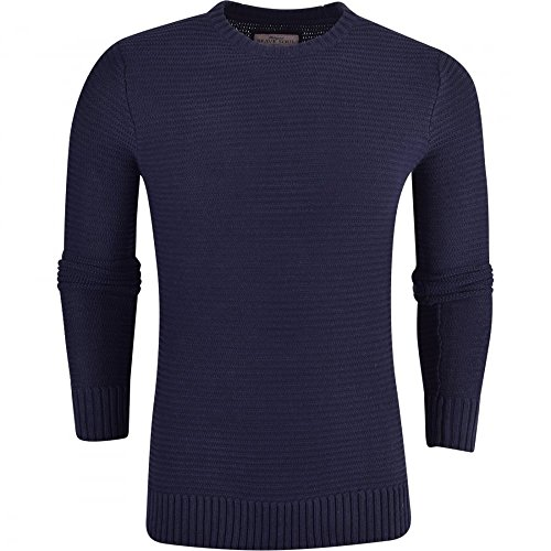 llover Gr. M, blau (Echo Pullover Männer)