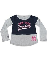 New York Yankees 2-in-1-Maglia a maniche lunghe da Majestic originale dbdeccc31466