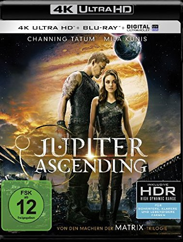 Jupiter Ascending - Ultra HD Blu-ray [4k + Blu-ray Disc]