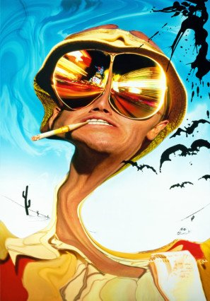 FEAR AND LOATHING IN LAS VEGAS - Johnny Depp - US Textless Imported Movie Wall Poster Print - 30CM X 43CM Brand New