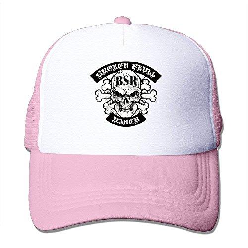 lijied Broken Skull Ranch Mesh Hat Trucker Baseball Cap Carolina Ranch