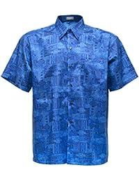 Silk shirt men clothing for Mens silk shirts amazon
